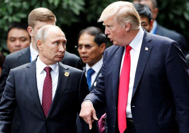 ABD Başkanı Donald Trump- Rusya Devlet Başkanı Vladimir Putin