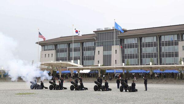 ABD'nin Güney Kore'deki yeni karargahı Camp Humphreys - Sputnik Türkiye