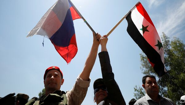 Rus askeri- Suriye - Sputnik Türkiye