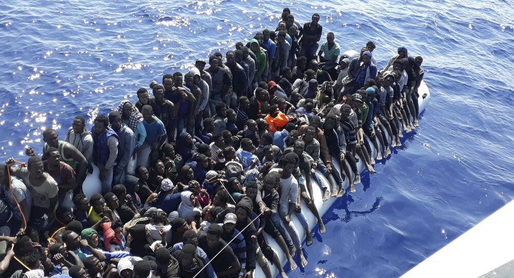 Libya-Göçmenler