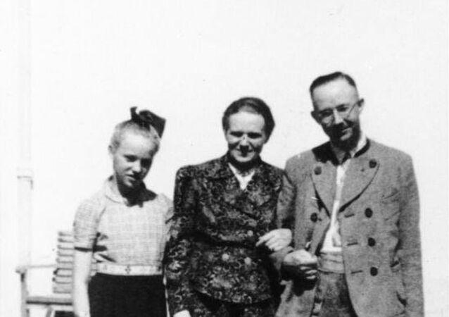 Heinrich Himmler, eşi ve kızı Gudrun