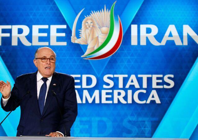 ABD Başkanı Donald Trump'ın avukatı Rudy Giuliani