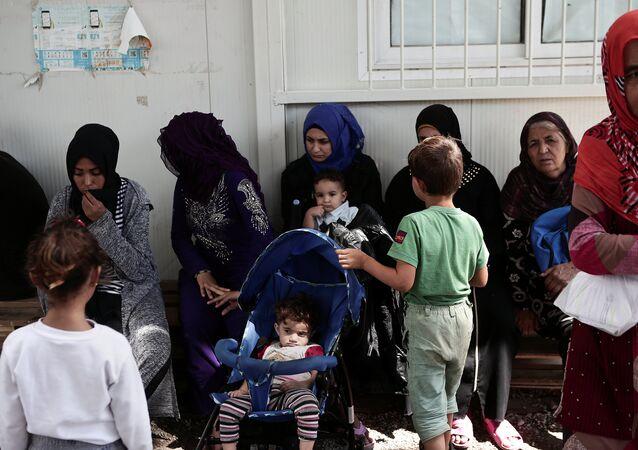 Yunanistan- Sığınmacı
