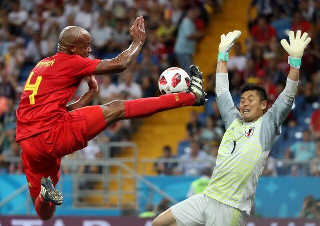 2018 Dünya Kupası, son 16 turu, Belçika-Japonya, Vincent Kompany-Eiji Kawashima