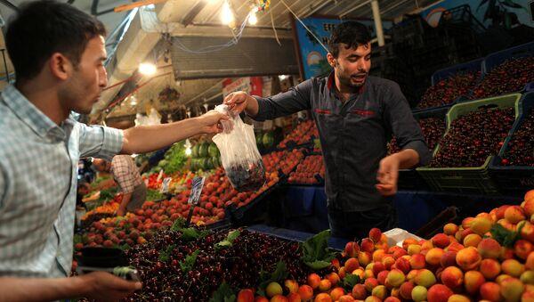 Enflasyon, pazar, alışveriş - Sputnik Türkiye