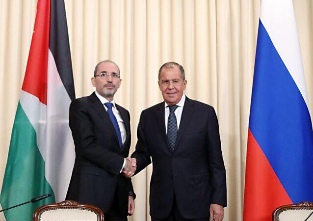 Rusya Dışişleri Bakanı Sergey Lavrov ve Ürdünlü mevkidaşı Eymen Safadi