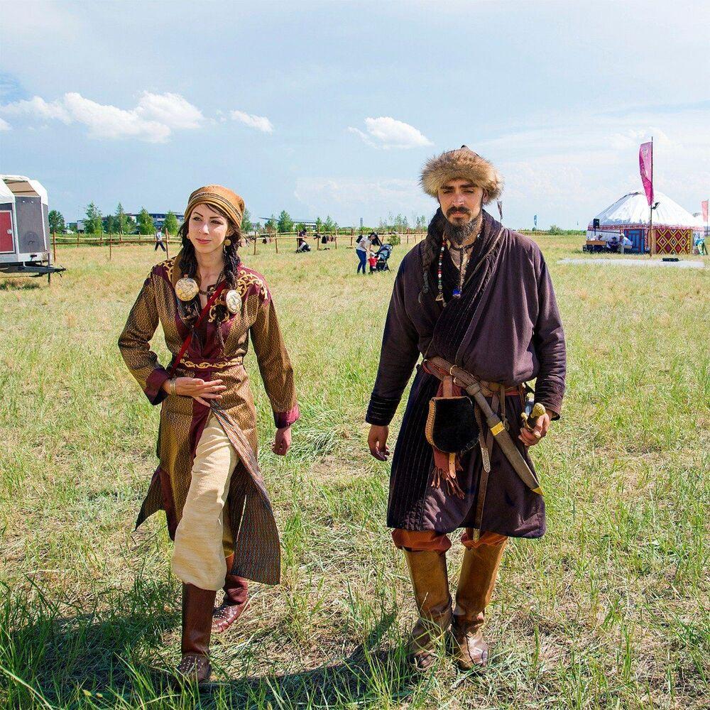 Kazakistan'da Göçebe Halklar Festivali