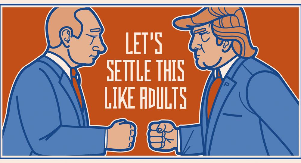 Putin-Trump-Bira