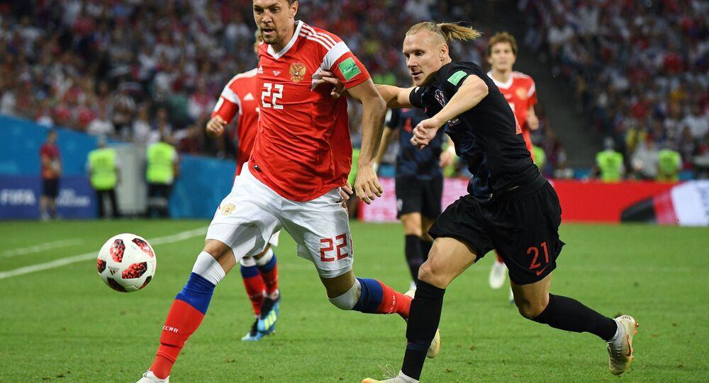 World Cup: Russia vs Croatia quarterfinals match