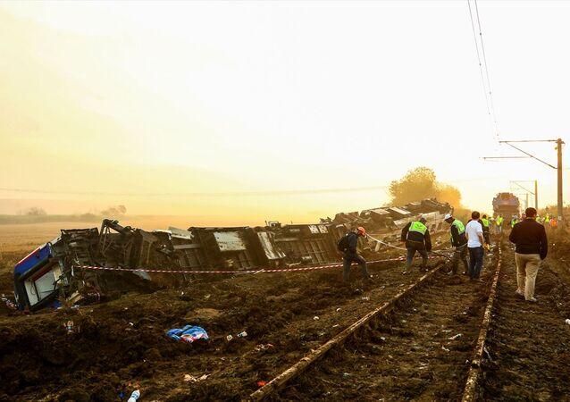Tekirdağ-Çorlu, tren kazası