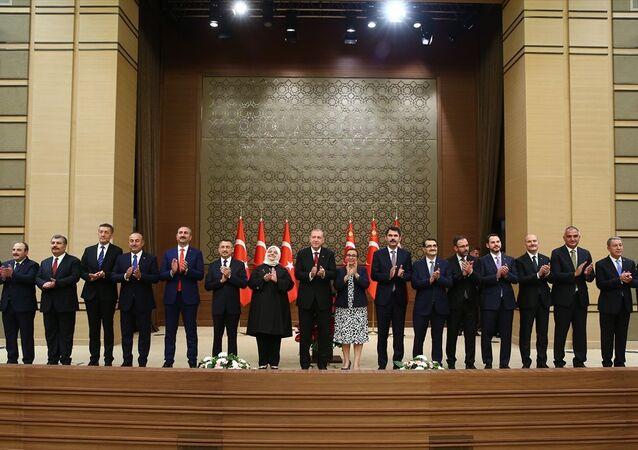 Recep Tayyip Erdoğan, yeni kabine