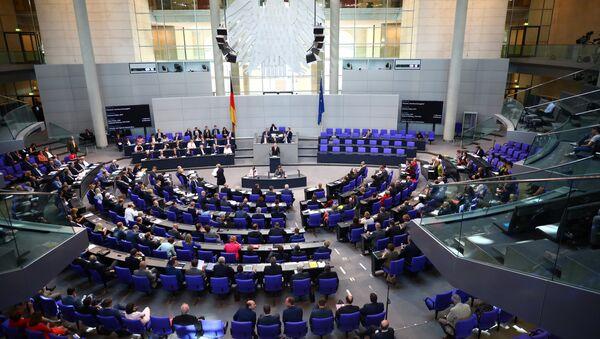 Alman Parlamentosu- Bundestag - Sputnik Türkiye