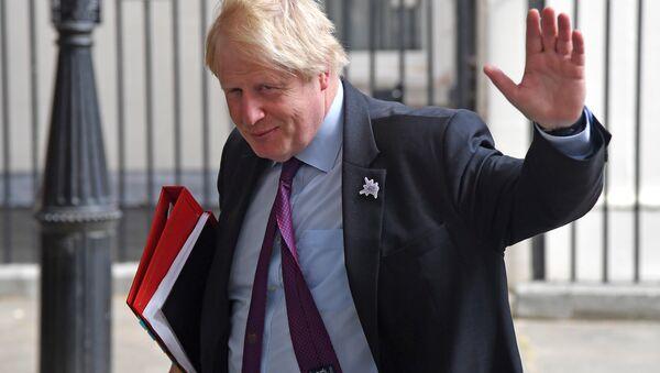Eski İngiltere Dışişleri Bakanı Boris Johnson - Sputnik Türkiye