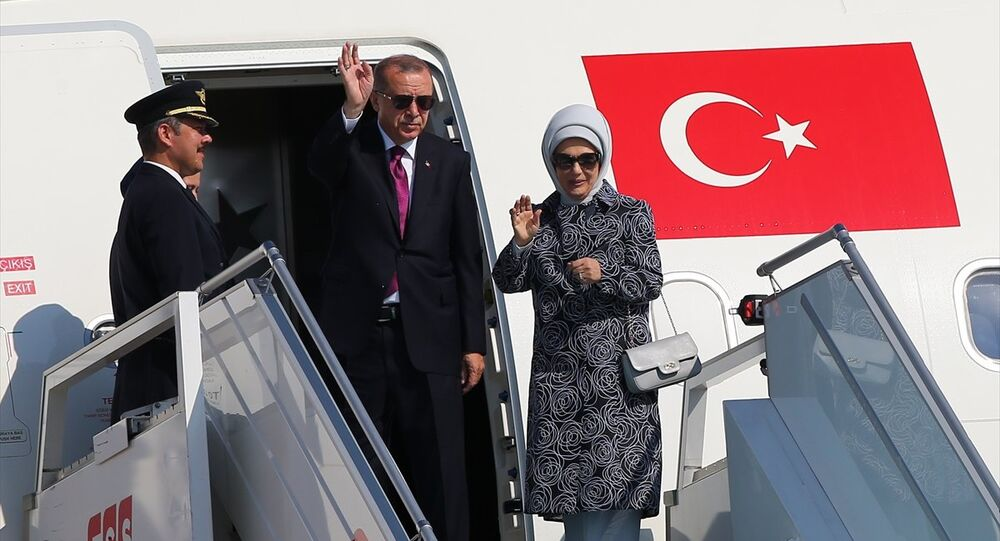 Recep Tayyip Erdoğan, uçak