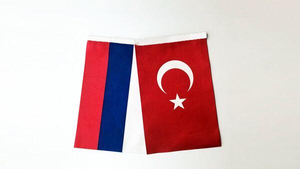 Türkiye-Rusya bayrağı - Sputnik Türkiye