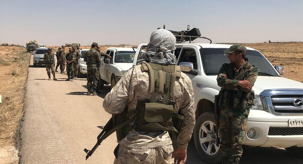 Dera- Suriye ordusu