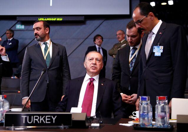 Türkiye Cumhurbaşkanı Recep Tayyip Erdoğan, NATO zirvesi için Brüksel'de