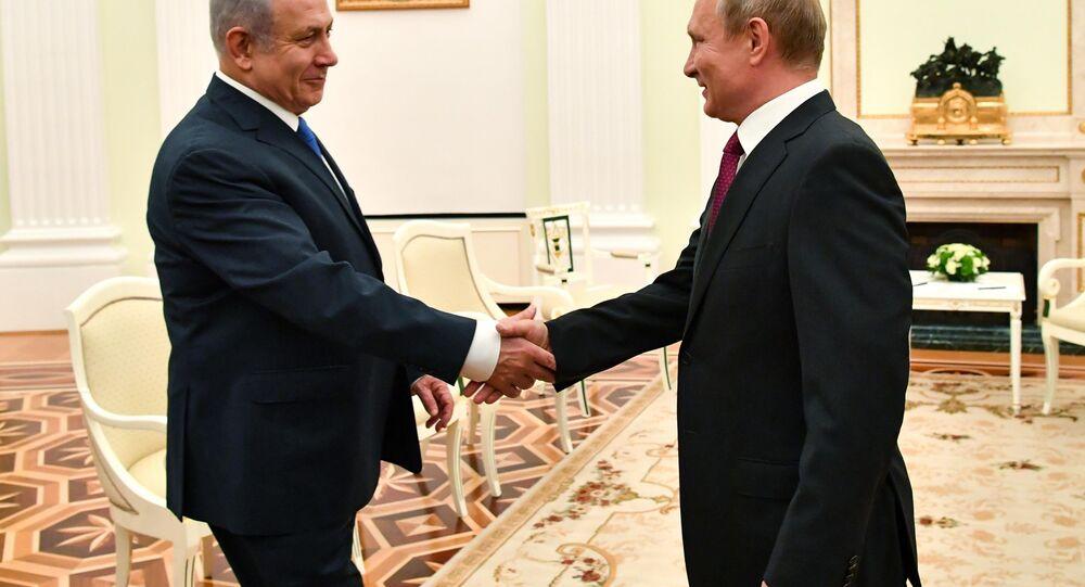 Vladimir Putin-Benyamin Netanyahu