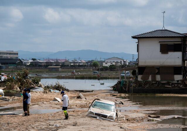 Japonya- Sel felaketi