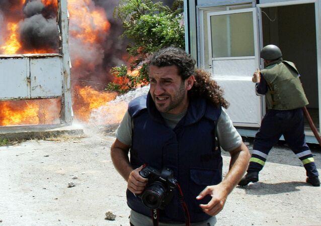 Riskli meslek olan fotoğraf muhabirliği