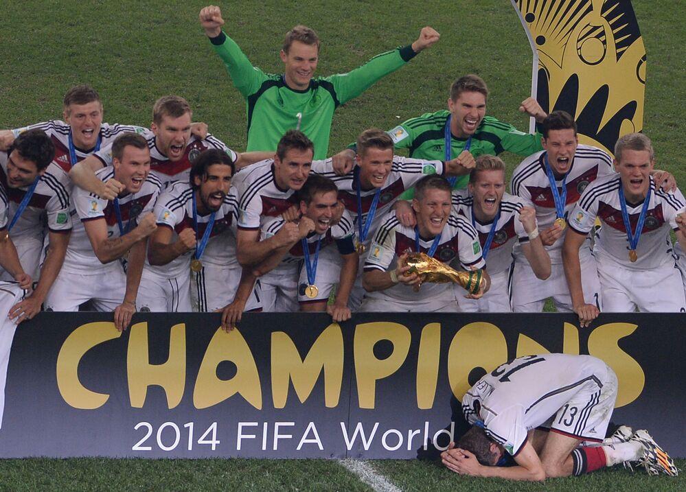 Dünya Kupası'nı kazanan ülkeler