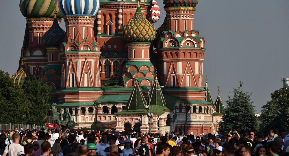 Kızıl Meydan, Moskova