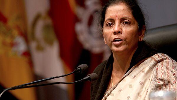 Hindistan Savunma Bakanı Nirmala Sitharaman - Sputnik Türkiye