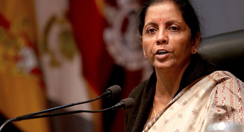 Hindistan Savunma Bakanı Nirmala Sitharaman