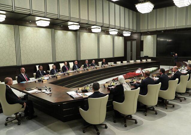Cumhurbaşkanlığı sisteminin ilk kabine toplantısı
