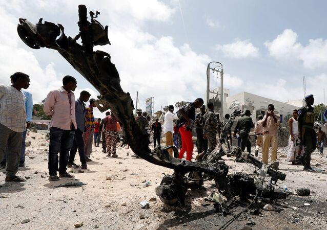 Mogadişu-Bombalı saldırı