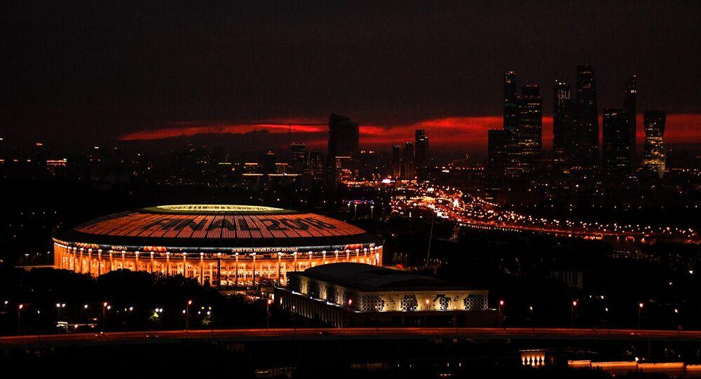 2018 FIFA Dünya Kupası finalinin oynanacağı Lujniki Stadyumu