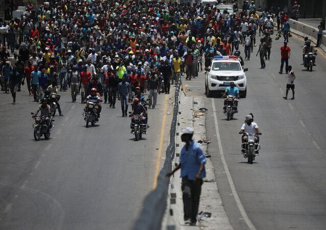Haiti'deki protestolar