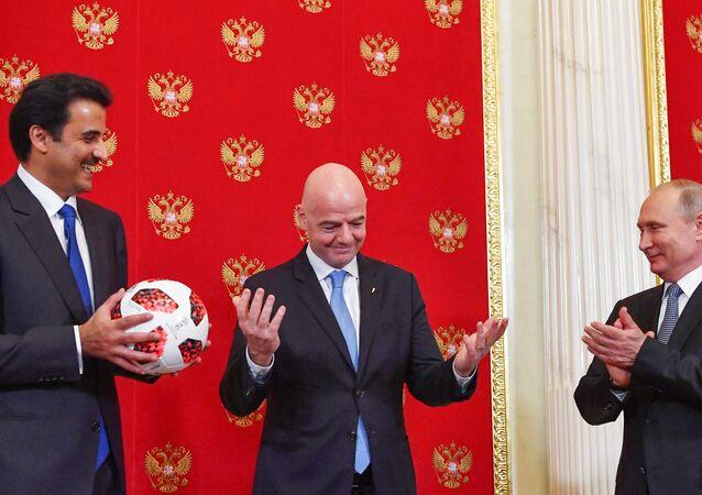 Rusya- Katar- FIFA