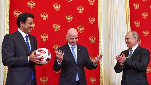 Rusya- Katar- FIFA - Sputnik Türkiye