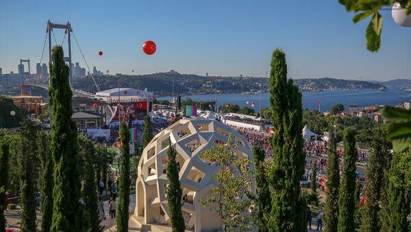 15 Temmuz Şehitler Köprüsü'ne yürüyüş başladı - Sputnik Türkiye