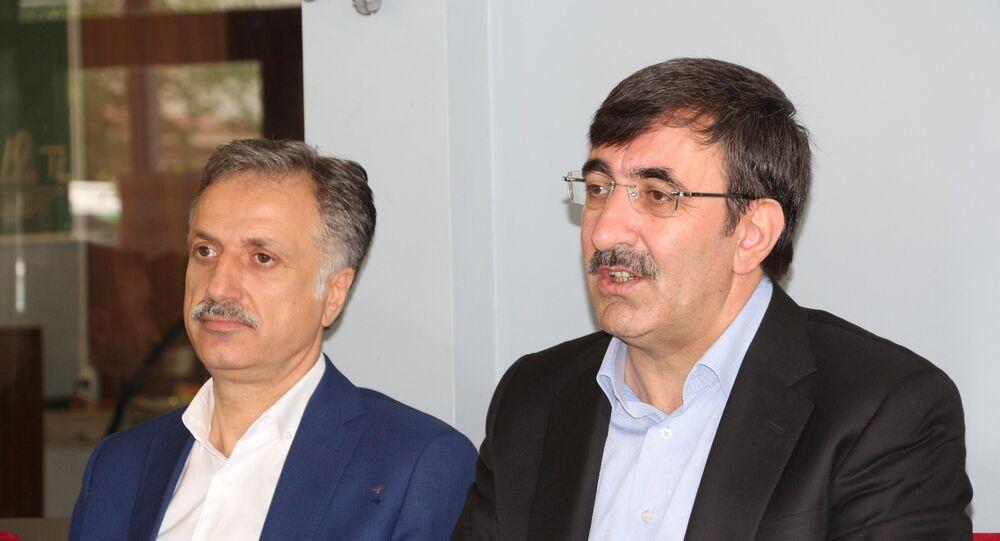 AK Parti Genel Başkan Yardımcısı Cevdet Yılmaz