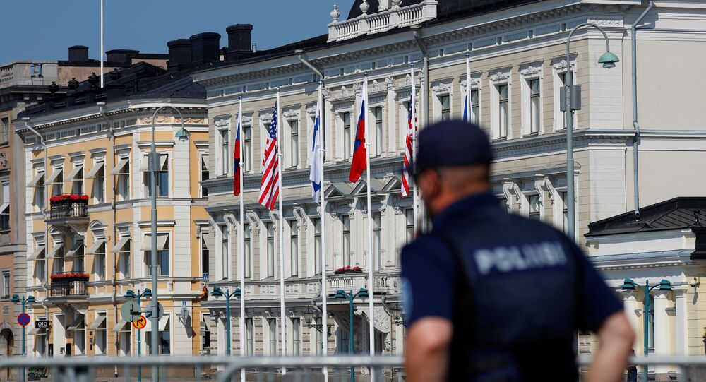 Finlandiya'nın başkenti Helsinki'deki Cumhurbaşkanlığı Sarayı