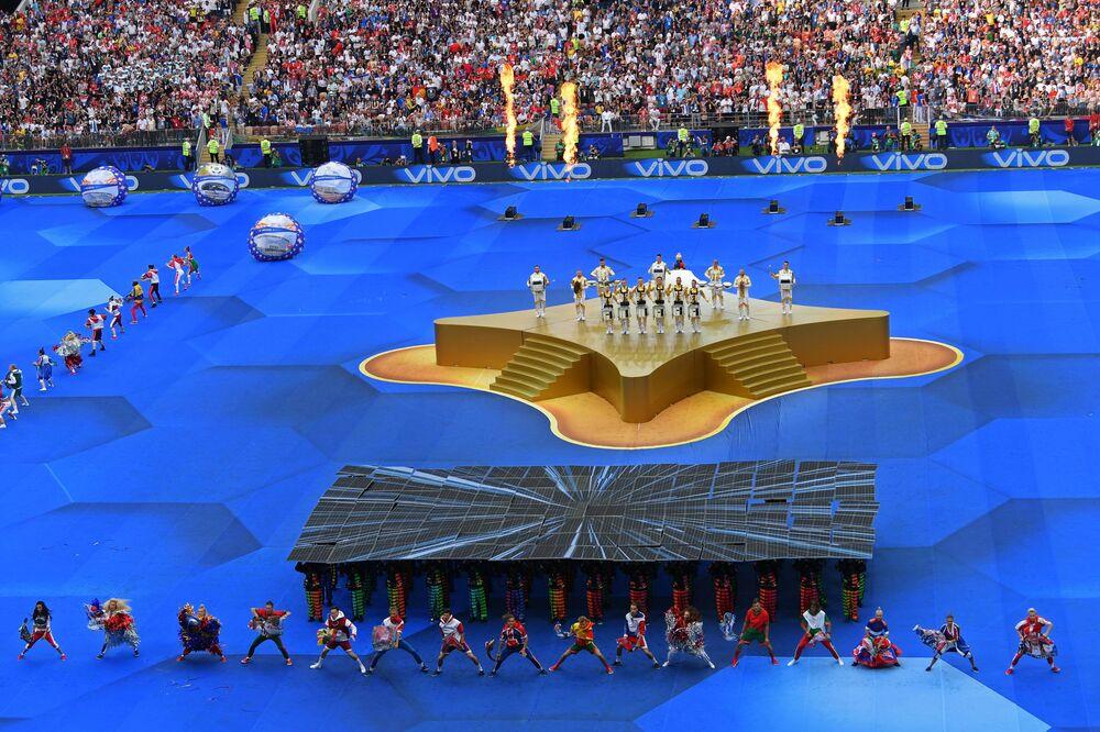 2018 Dünya Kupası kapanış töreni