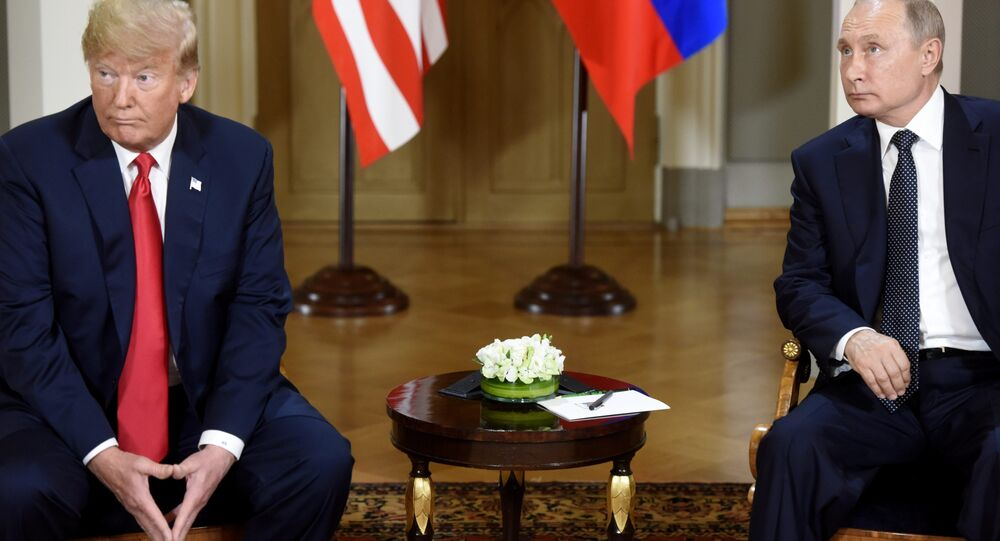 Vladimir Putin ve Donald Trump
