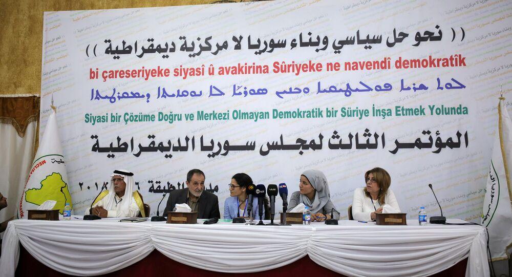 Demokratik Suriye Meclisi'nden Tabka'da 'birleşik yönetim' konferansı