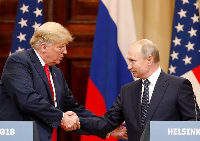 Helsinki zirvesi Putin-Trump basın toplantısı