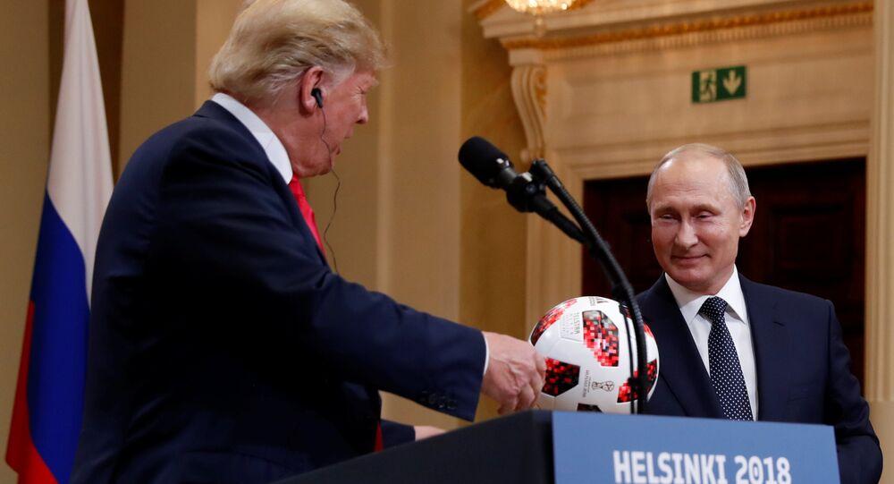 Rusya Devlet Başkanı Putin ve ABD Başkanı Donald Trump ortak basın toplantısı gerçekleştirdi