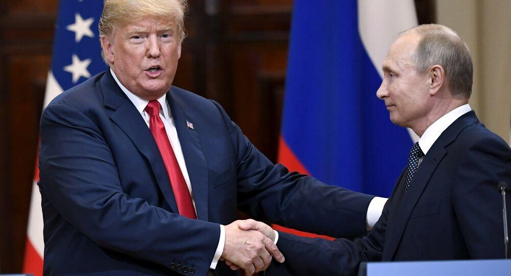 Helsinki zirvesinde Putin-Trump basın toplantısı