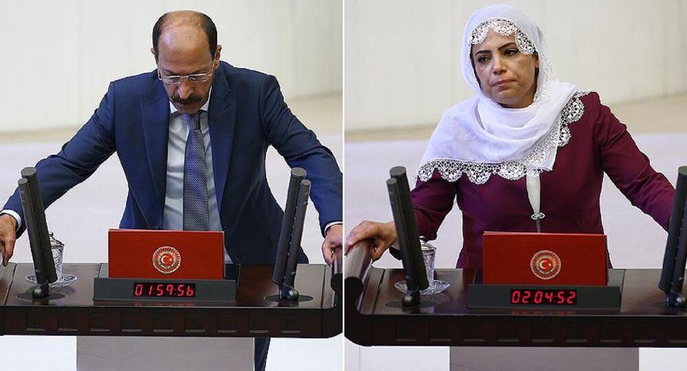HDP Diyarbakır milletvekilleri Musa Farisoğulları ve Remziye Tosun