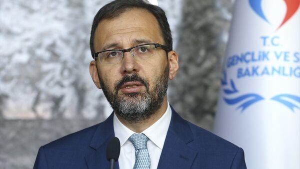 Gençlik ve Spor Bakanı Mehmet Kasapoğlu - Sputnik Türkiye