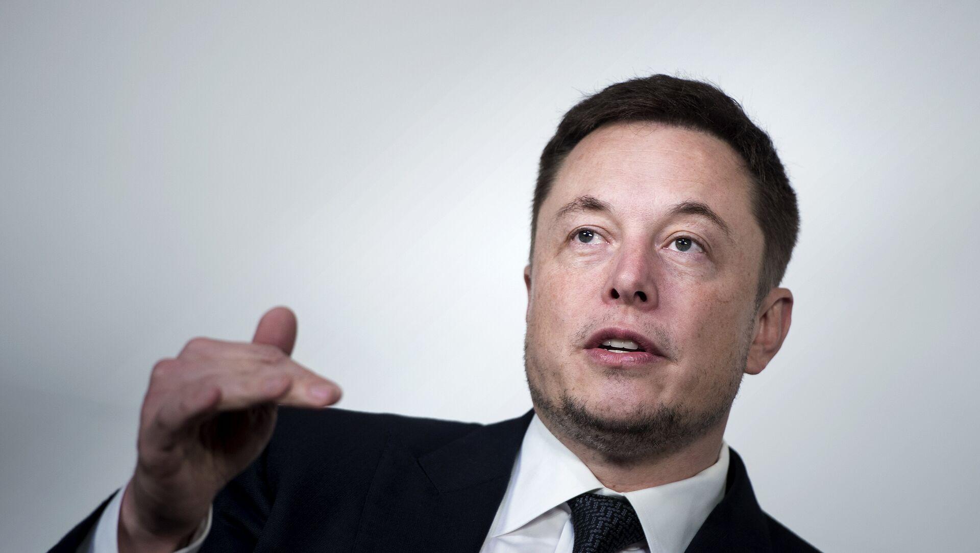 Elon Musk - Sputnik Türkiye, 1920, 14.04.2021