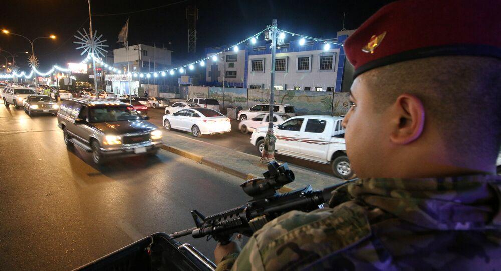 Iraklı güvenlik güçleri-Basra