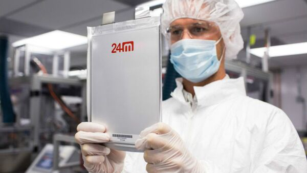 24M says its new lithium-ion battery - Sputnik Türkiye
