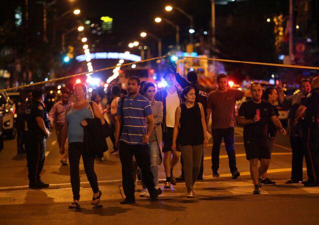 Toronto-Silahlı saldırı