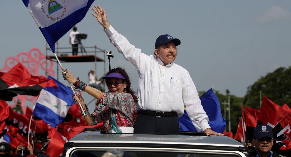 Nikaragua Devlet Başkanı Daniel Ortega